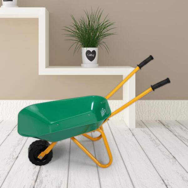 Kids WheelBarrows with Garden Carts, Green kids wheel barrows and garden carts green 17