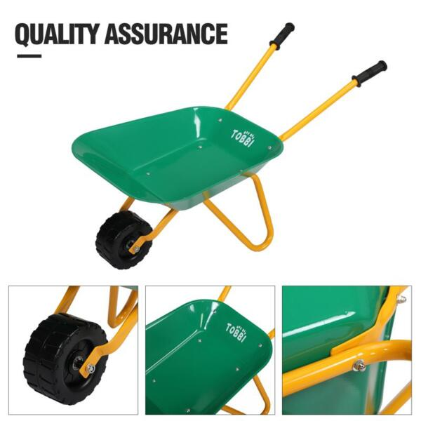 Kids WheelBarrows with Garden Carts, Green kids wheel barrows and garden carts green 25