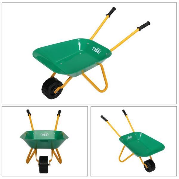 Kids WheelBarrows with Garden Carts, Green kids wheel barrows and garden carts green 27