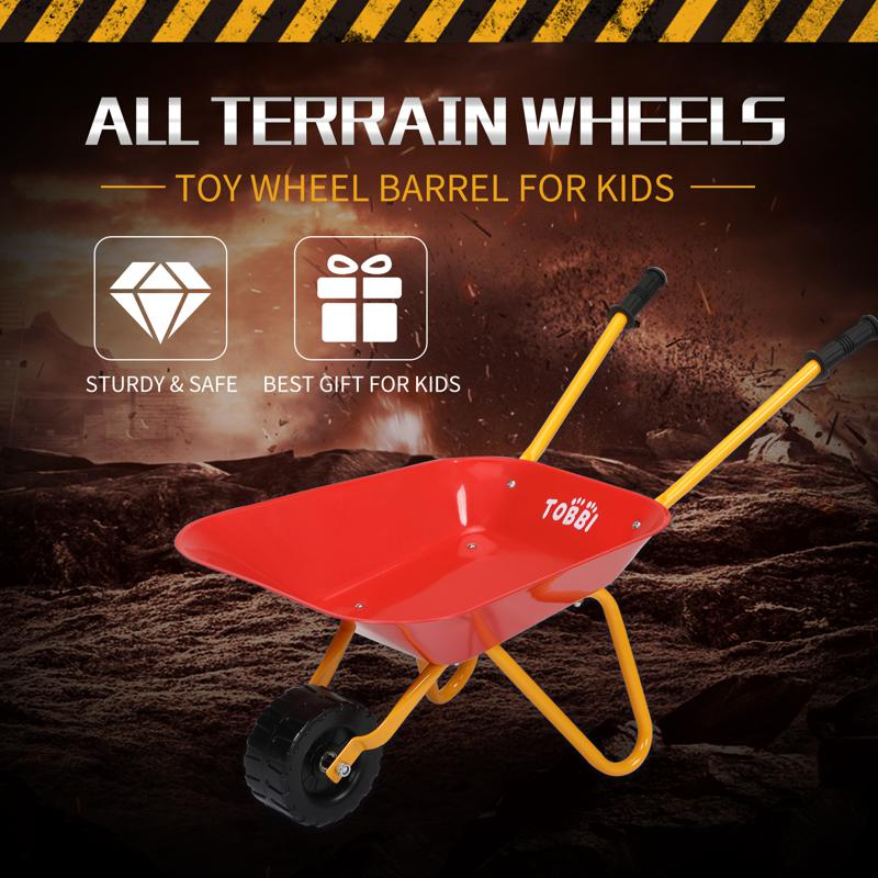 Kids WheelBarrows with Garden Carts, Red kids wheel barrows and garden carts red 10 1
