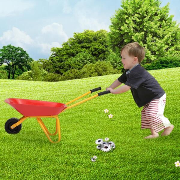 Kids Wheel Barrows and Garden Carts, Red kids wheel barrows and garden carts red 12