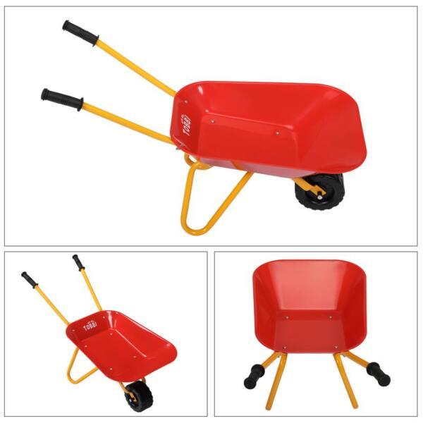 Kids Wheel Barrows and Garden Carts, Red kids wheel barrows and garden carts red 24