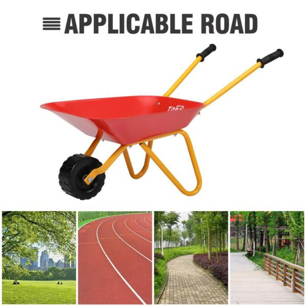 Kids Wheel Barrows and Garden Carts, Red kids wheel barrows and garden carts red 27