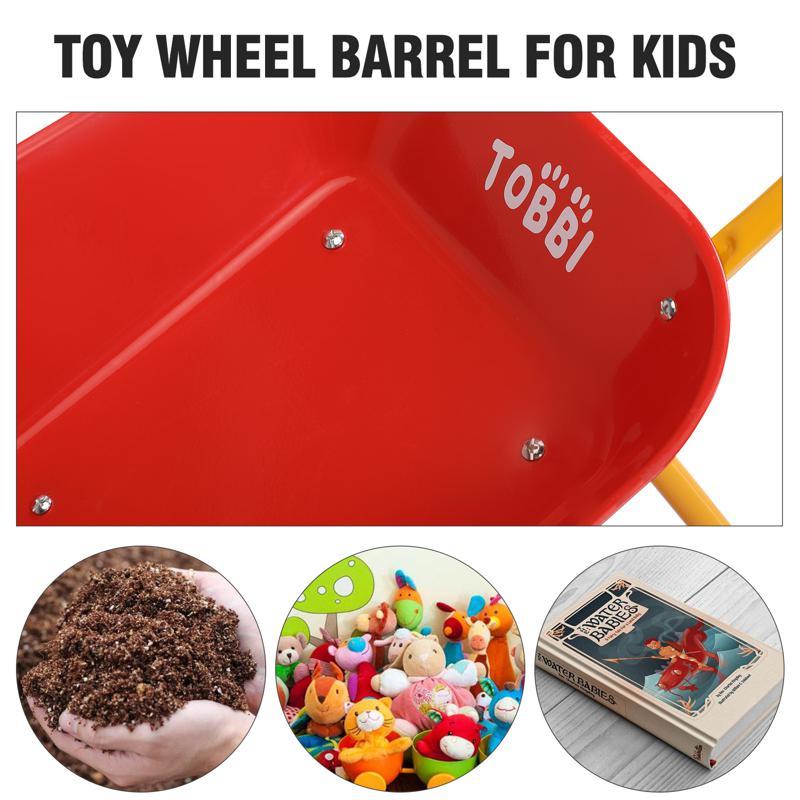 Kids WheelBarrows with Garden Carts, Red kids wheel barrows and garden carts red 28 2