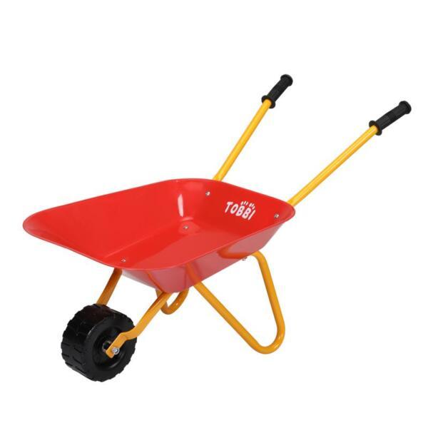 Kids Wheel Barrows and Garden Carts, Red kids wheel barrows and garden carts red 3