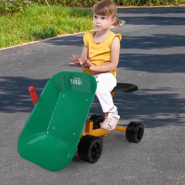 Outdoor Kids Play Wheelbarrow, Green kids wheelbarrow outdoor kids wheel green 15