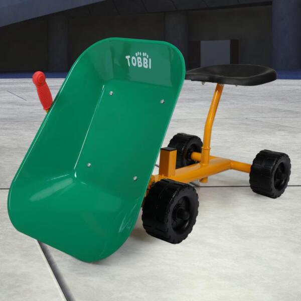 Outdoor Kids Play Wheelbarrow, Green kids wheelbarrow outdoor kids wheel green 17