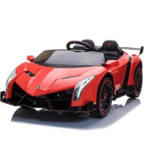 Home lamborghini veneno 12v kids ride on car red 0 kids electric cars