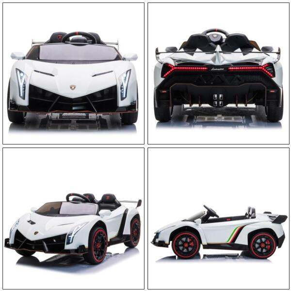 Lamborghini Veneno 12V Kids Ride On Car , White lamborghini veneno 12v kids ride on car white 31