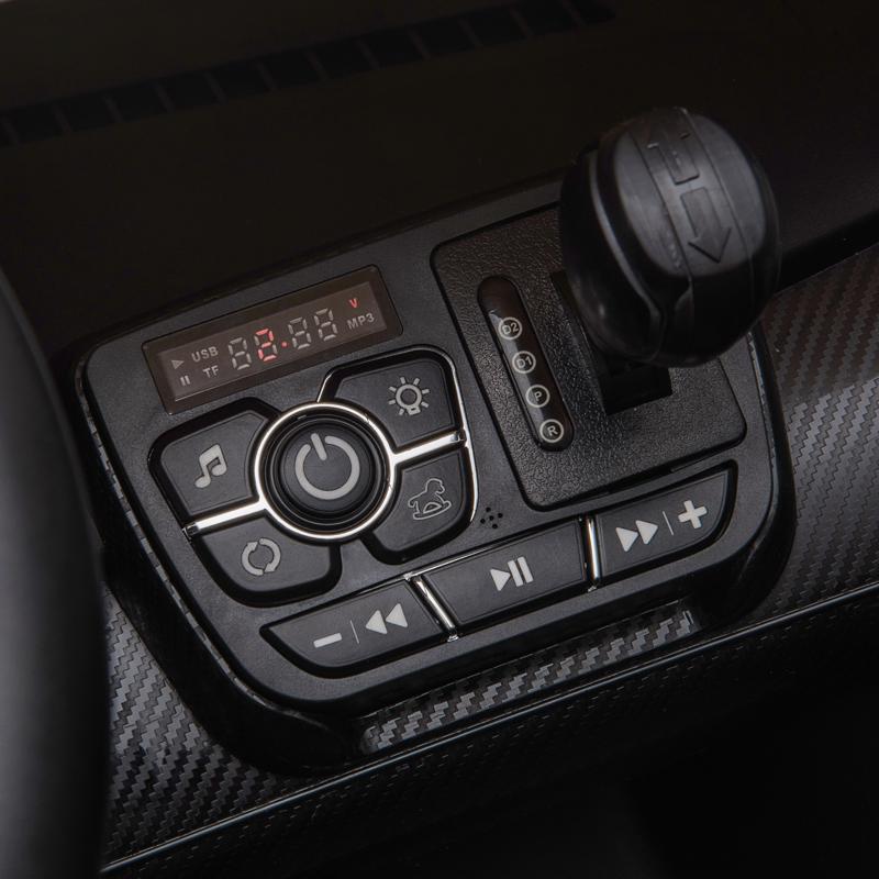 12V Lamborghini Ride On Car With Remote Control 2 Seater, White lamborghini veneno 12v kids ride on car white 36 1