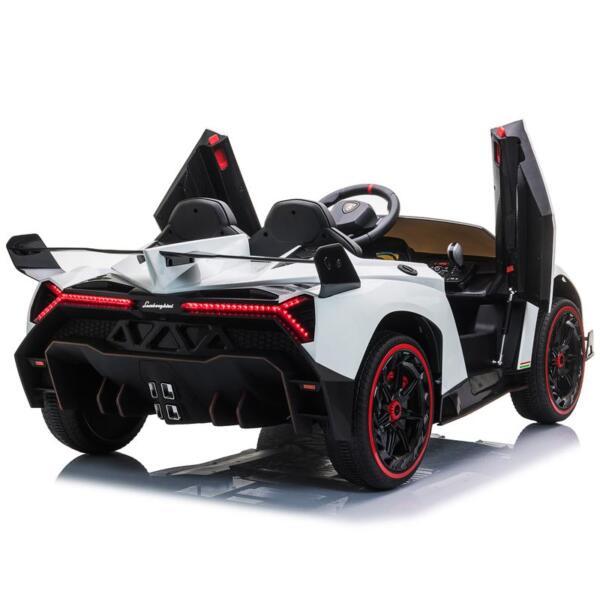 Lamborghini Veneno 12V Kids Ride On Car , White lamborghini veneno 12v kids ride on car white 5