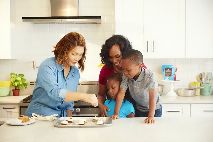 Summer Vacation at Home with Kids: How to Survive let kids be the part of kitchen Kid Insider