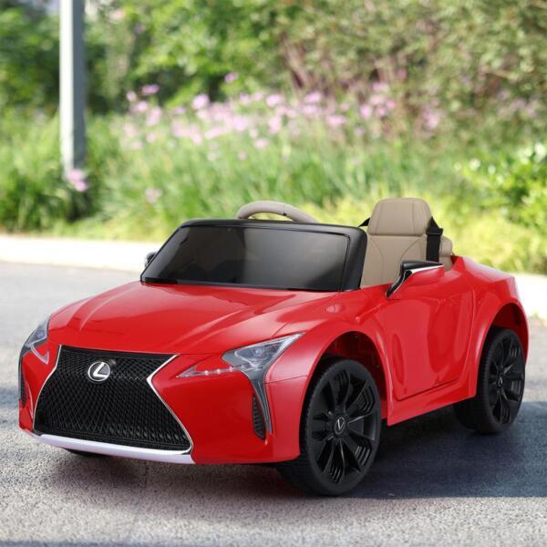 Lexus Licensed LC500 Electric Vehicle, Red lexus licensed lc500 electric vehicle red 19