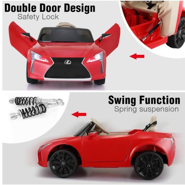Lexus Licensed LC500 Electric Vehicle, Red lexus licensed lc500 electric vehicle red 32 1