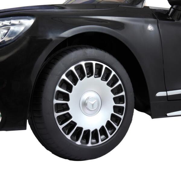 Licensed Mercedes-Benz S650 12V Ride on Car for Kids, Black licensed maybach s650 12v ride on car for kids black 28 1