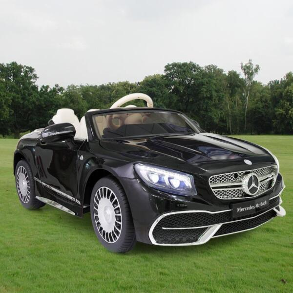 Licensed Mercedes-Benz S650 12V Ride on Car for Kids, Black licensed maybach s650 12v ride on car for kids black 3