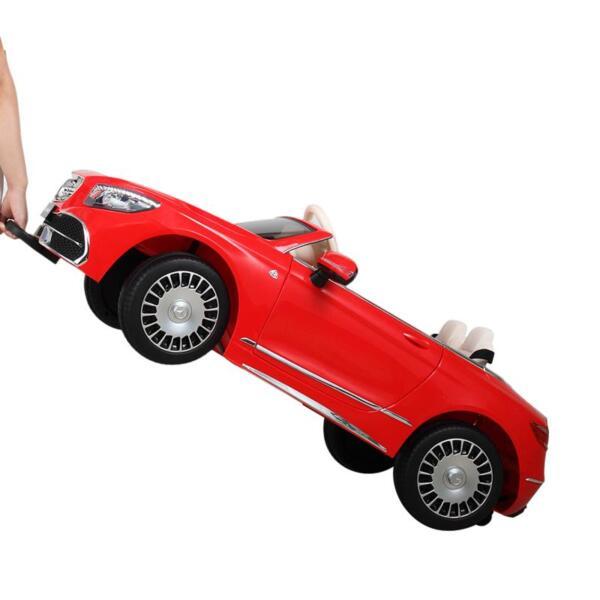 Licensed Mercedes-Benz S650 12V Ride on Car for Kids, Red licensed maybach s650 12v ride on car for kids red 15 1