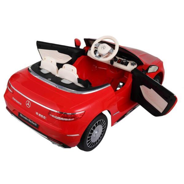 Licensed Mercedes-Benz S650 12V Ride on Car for Kids, Red licensed maybach s650 12v ride on car for kids red 17