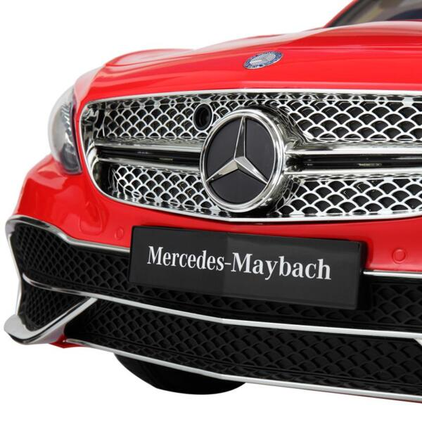 Licensed Mercedes-Benz S650 12V Ride on Car for Kids, Red licensed maybach s650 12v ride on car for kids red 21 1