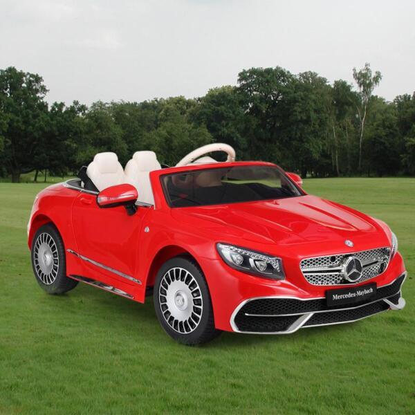 Licensed Mercedes-Benz S650 12V Ride on Car for Kids, Red licensed maybach s650 12v ride on car for kids red 3