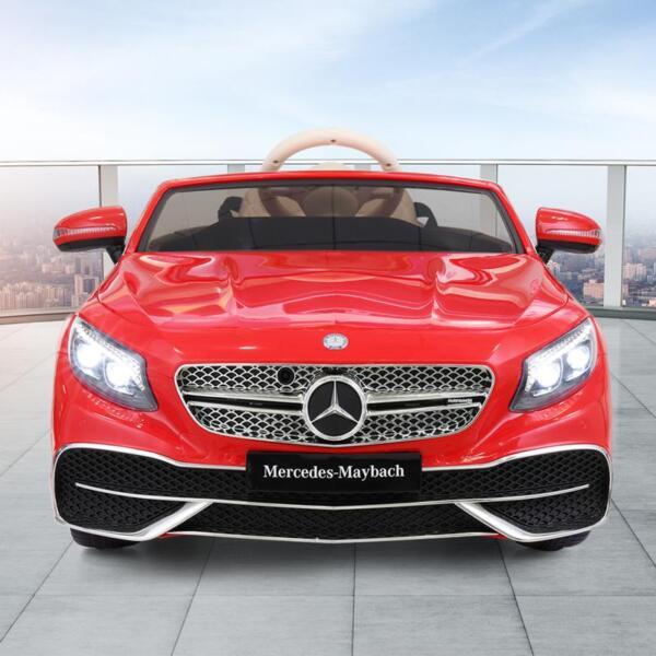 Licensed Mercedes-Benz S650 12V Ride on Car for Kids, Red licensed maybach s650 12v ride on car for kids red 4