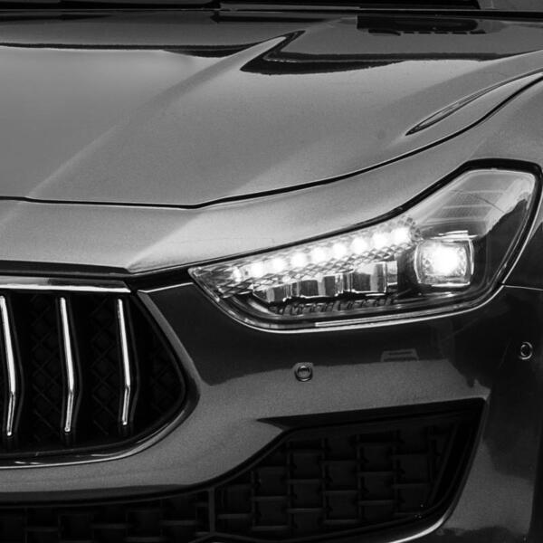 Maserati 12V Rechargeable Toy Vehicle, Black maserati 12v rechargeable toy vehicle black 1