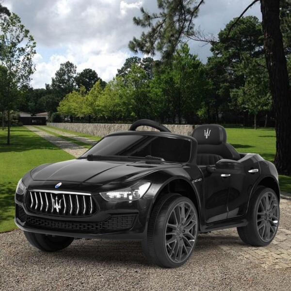 Maserati 12V Rechargeable Toy Vehicle, Black maserati 12v rechargeable toy vehicle black 10