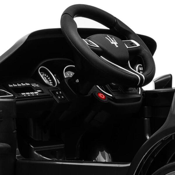 Maserati 12V Rechargeable Toy Vehicle, Black maserati 12v rechargeable toy vehicle black 2