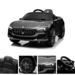 Maserati Kids Car 12V Ride On With Remote, Black maserati 12v rechargeable toy vehicle black 20