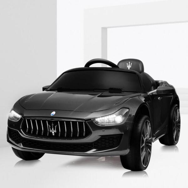 Maserati 12V Rechargeable Toy Vehicle, Black maserati 12v rechargeable toy vehicle black 4