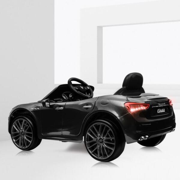 Maserati 12V Rechargeable Toy Vehicle, Black maserati 12v rechargeable toy vehicle black 5