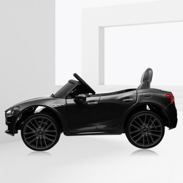 Maserati 12V Rechargeable Toy Vehicle, Black maserati 12v rechargeable toy vehicle black 7