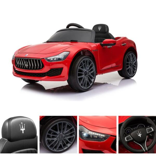 Maserati 12V Rechargeable Toy Vehicle, Red maserati 12v rechargeable toy vehicle red 22
