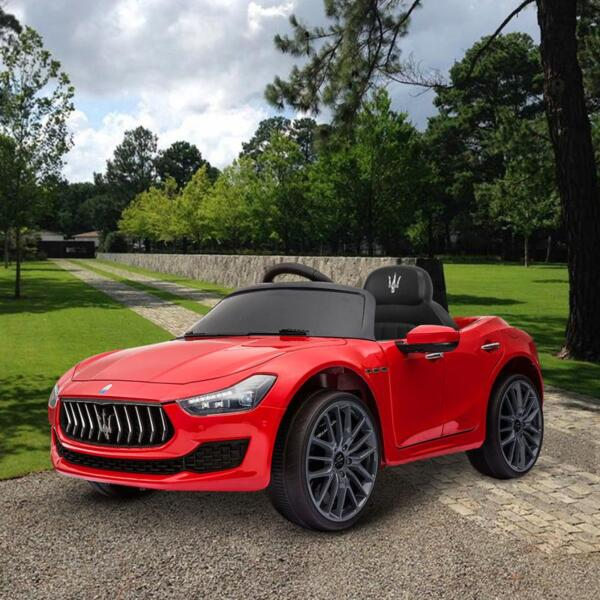 Maserati 12V Rechargeable Toy Vehicle, Red maserati 12v rechargeable toy vehicle red 8