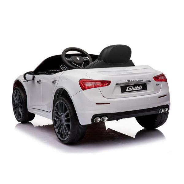 Maserati 12V Rechargeable Toy Vehicle, White maserati 12v rechargeable toy vehicle white 14