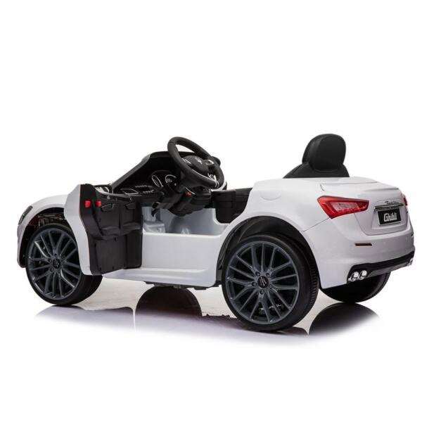 Maserati 12V Rechargeable Toy Vehicle, White maserati 12v rechargeable toy vehicle white 15