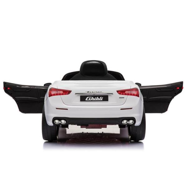 Maserati 12V Rechargeable Toy Vehicle, White maserati 12v rechargeable toy vehicle white 16
