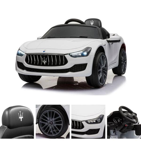 Maserati 12V Rechargeable Toy Vehicle, White maserati 12v rechargeable toy vehicle white 21