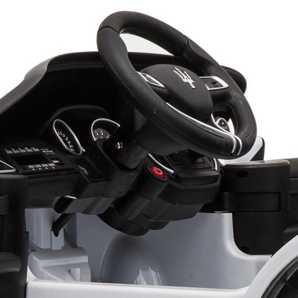 Maserati 12V Rechargeable Toy Vehicle, White maserati 12v rechargeable toy vehicle white 3