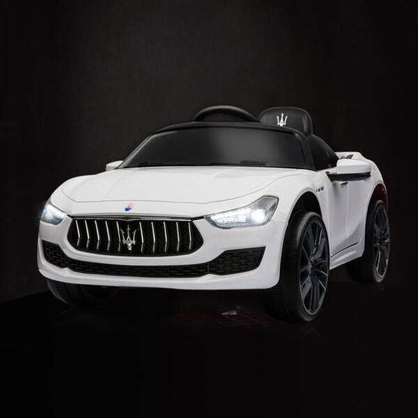 Maserati 12V Rechargeable Toy Vehicle, White maserati 12v rechargeable toy vehicle white 5