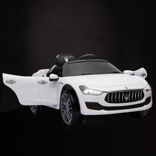Maserati 12V Rechargeable Toy Vehicle, White maserati 12v rechargeable toy vehicle white 7