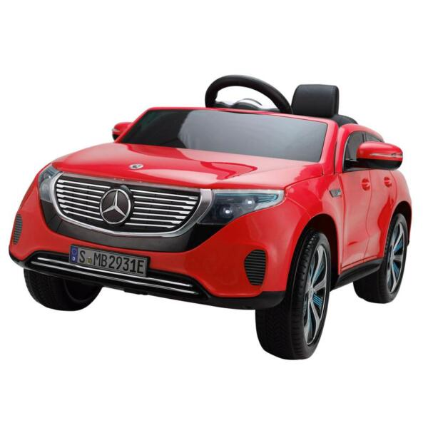 Mercedes-Benz EQC Officially Licensed Ride-On Kid's Toy Car, Red mercedes benz eqc licensed ride on kids electric car red 2