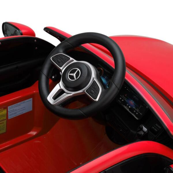 Mercedes-Benz EQC Officially Licensed Ride-On Kid's Toy Car, Red mercedes benz eqc licensed ride on kids electric car red 20