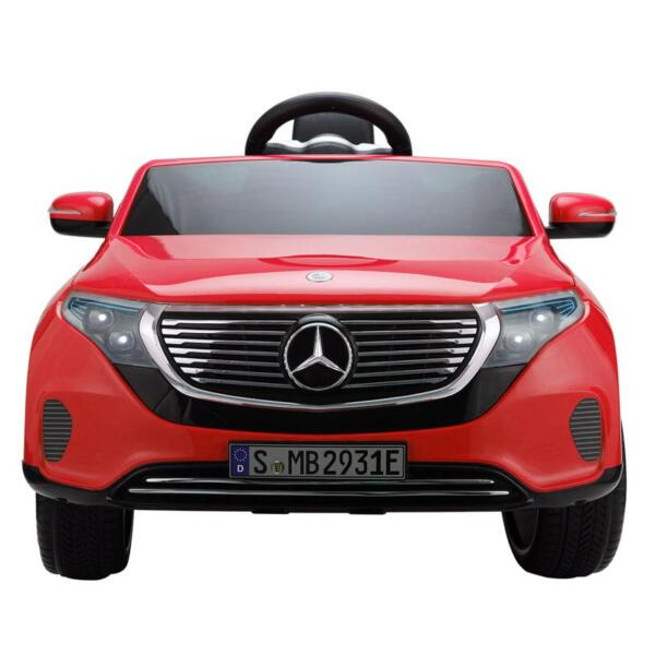 Mercedes-Benz EQC Officially Licensed Ride-On Kid's Toy Car, Red mercedes benz eqc licensed ride on kids electric car red 3
