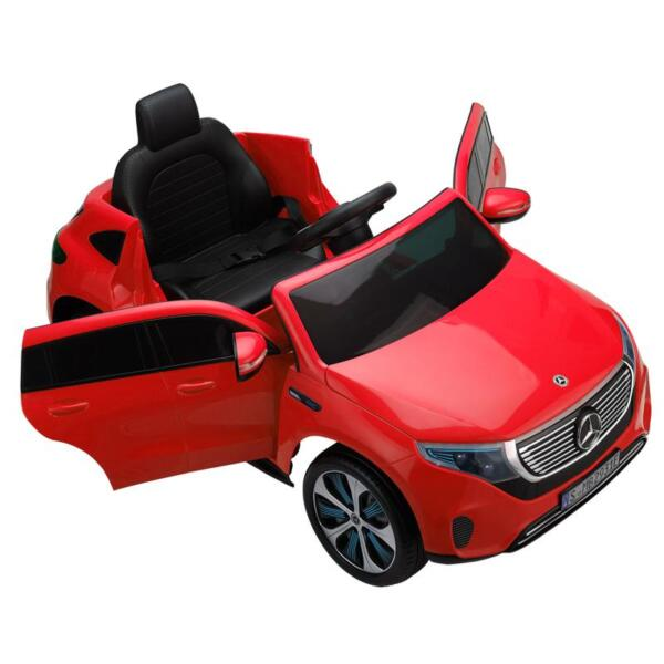 Mercedes-Benz EQC Officially Licensed Ride-On Kid's Toy Car, Red mercedes benz eqc licensed ride on kids electric car red 7