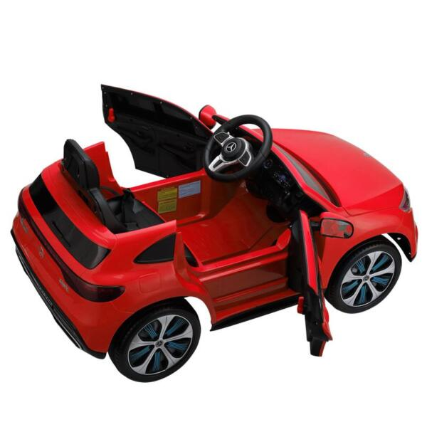 Mercedes-Benz EQC Officially Licensed Ride-On Kid's Toy Car, Red mercedes benz eqc licensed ride on kids electric car red 9