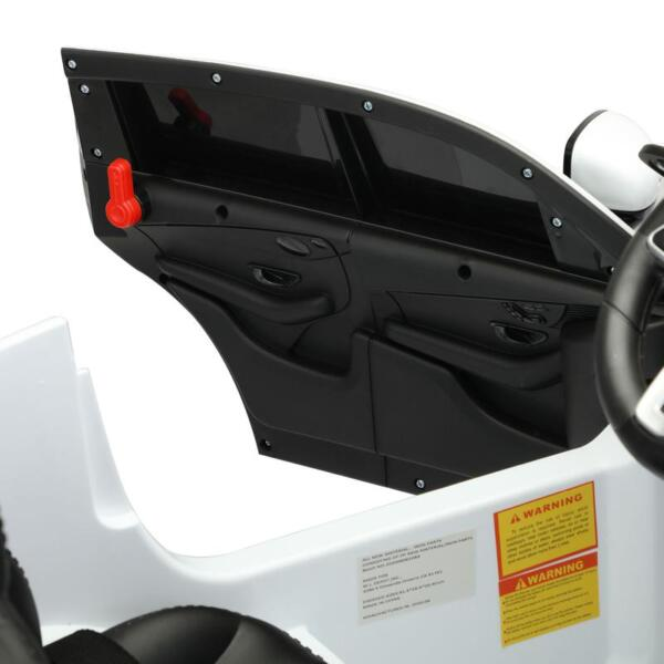 Mercedes Benz EQC Licensed Ride-On Kids Electric Car, White mercedes benz eqc licensed ride on kids electric car white 23