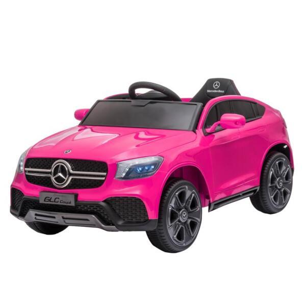 MercedesBenz GLC Licensed Kid's Electric Toy Car Vehicle, Pink mercedes benz glc licensed 12v kids eleectric car pink 0
