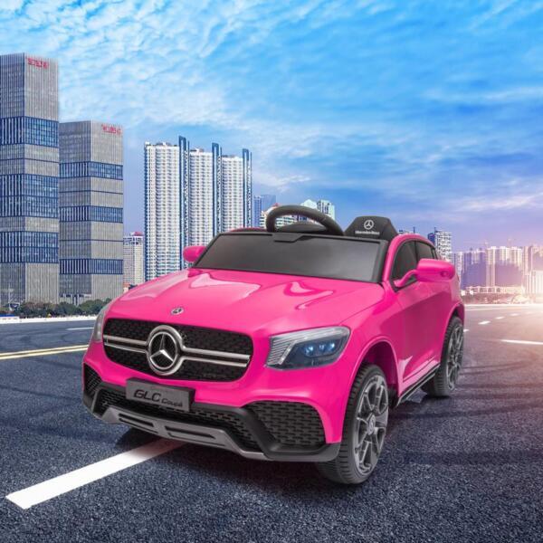 MercedesBenz GLC Licensed Kid's Electric Toy Car Vehicle, Pink mercedes benz glc licensed 12v kids eleectric car pink 17