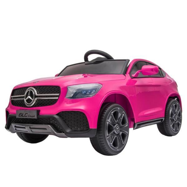MercedesBenz GLC Licensed Kid's Electric Toy Car Vehicle, Pink mercedes benz glc licensed 12v kids eleectric car pink 2